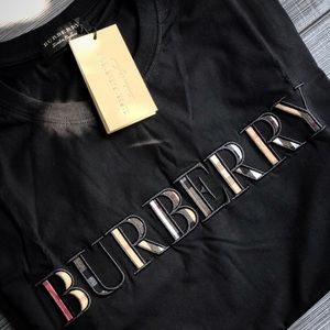 NWT Burberry Rare Embroidered Men's Tshirt